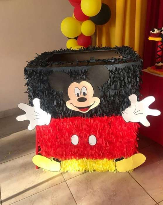 Caja para Regalos de Mickey