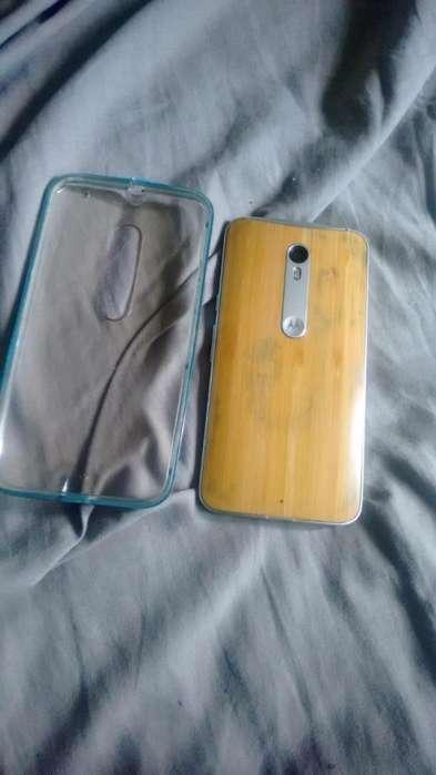 Celular Moto X style bamboo