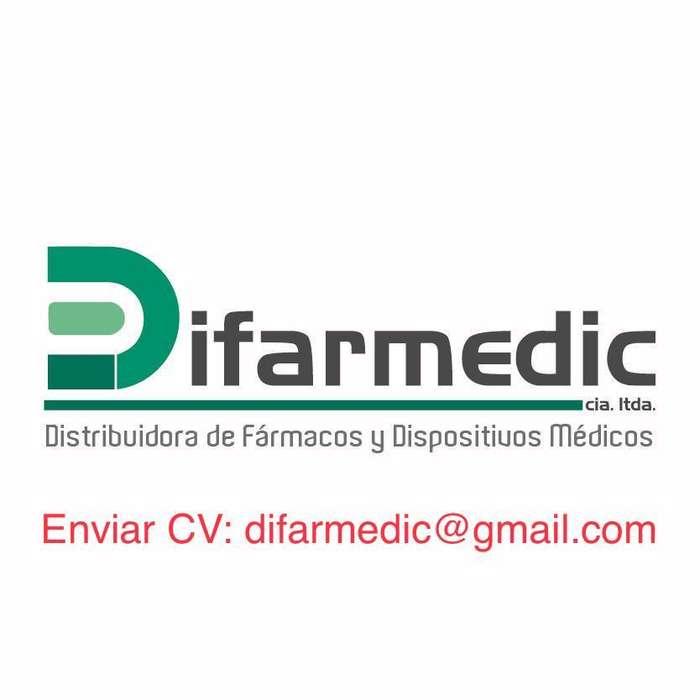 SE BUSCA: AUXILIAR DE FARMACIA (IBARRA)