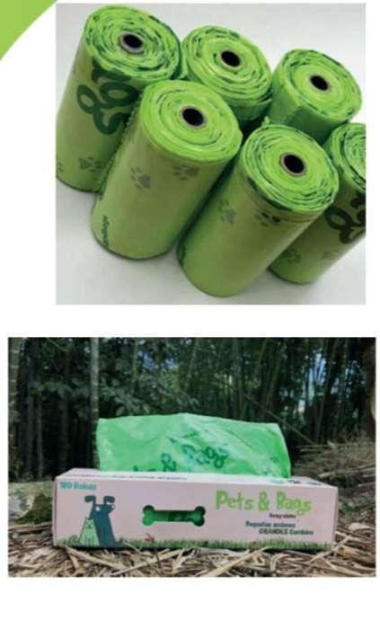 Bolsas Biodegradables para Recoges Heces