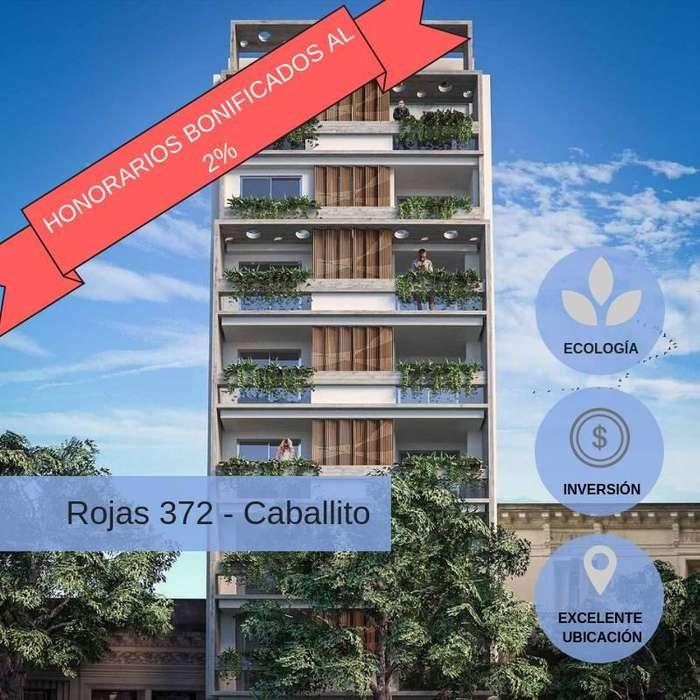 EN POZO 1 AMBIENTE EN PESOS (45M2) CABALLITO, BALCON - AMENITIES, COCHERAS