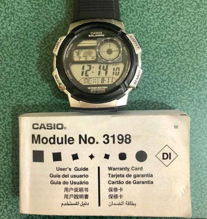 Reloj Casio Original USADO 3198