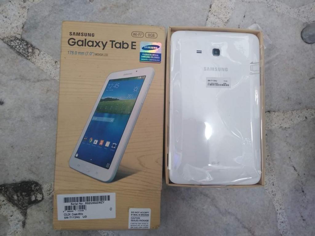 Tablet Samsung Nueva Sim Card