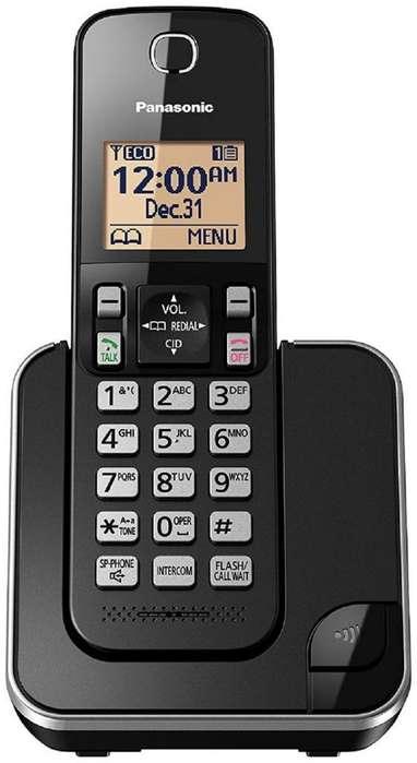 Teléfono Panasonic Inalámbrico Digital KXTGC350 Original Altavoz