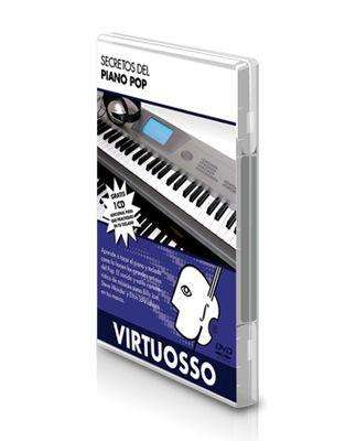Curso de Piano Pop en DVD