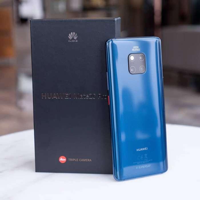 Huawei Mate 20 Pro Original con de paquete, estado 10 de 10 libre de fabrica