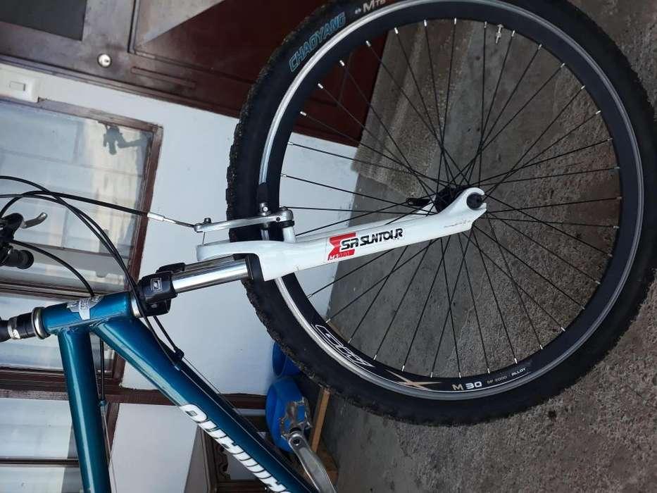 Bicicleta todoterreno en Chia