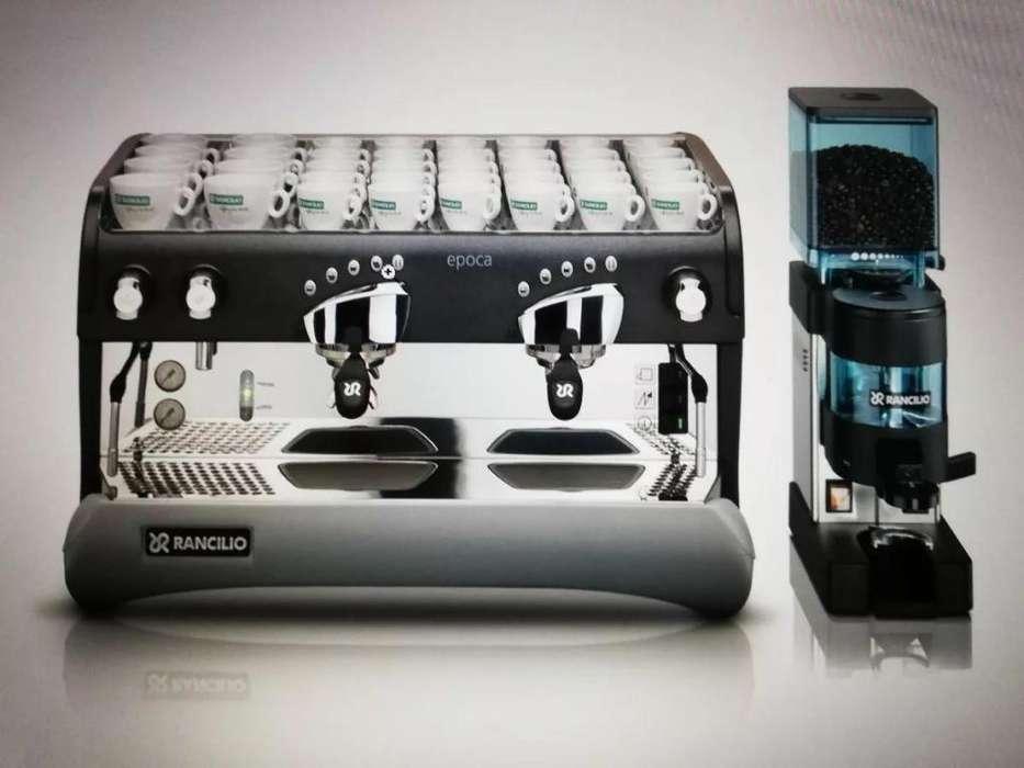 Cafetera Rancilio Epoca E 2gr Con Molino