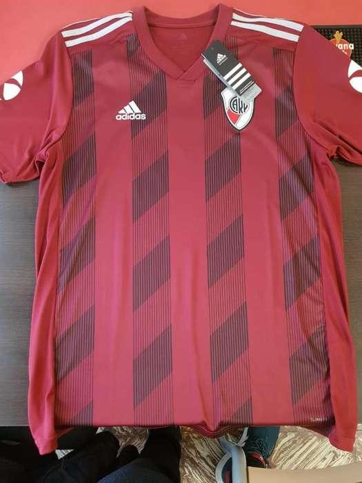 Camiseta River Suplente 2019 Talle L