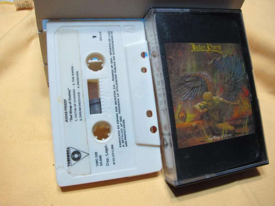 Judas Priest - Sad Wings Of Destiny - Cassette ESPAÑA