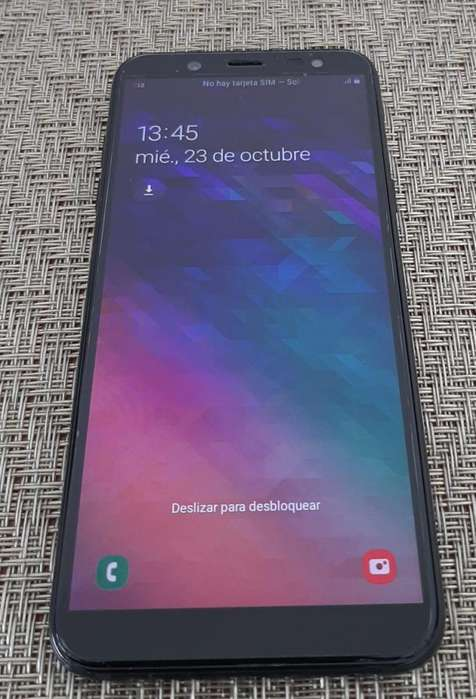 Samsung Galaxy A6 2018 Single Sim-black 32 Gb