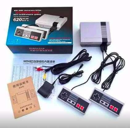 Mini Consola Retro con 620 juegos y 2 mandos incluidos