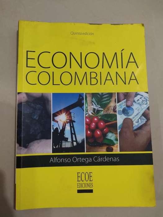 Libro Universitario Economia Colombiana