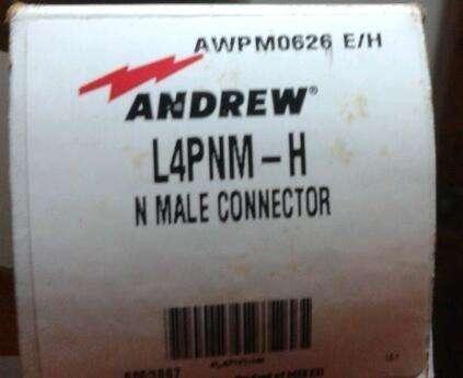 Conector N macho de 1/2 Marca Andrew modelo L4PNMH
