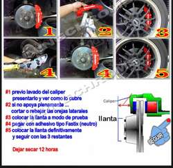 Cubre Calipers Brembo