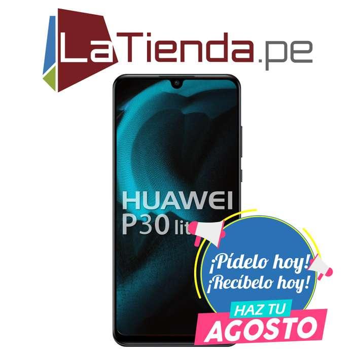 Huawei P30 Lite con lector de huellas