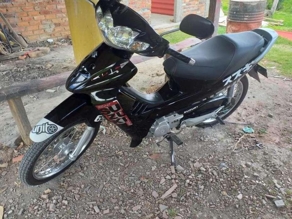 Vendo Hermosa Moto Suzuki Best 125 2013