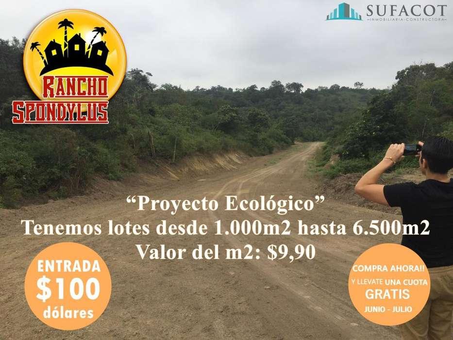 TERRENOS DESDE 1000 M2 PARA SU CASA DE <strong>campo</strong> / CON 100USD DE ENTRADA SD3
