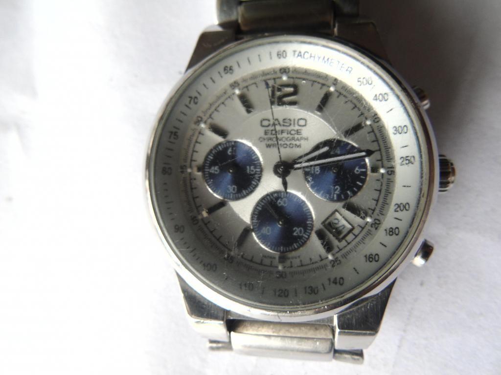 5d10af803825 reloj CASIO EDIFICE pulso metalico - Bogotá