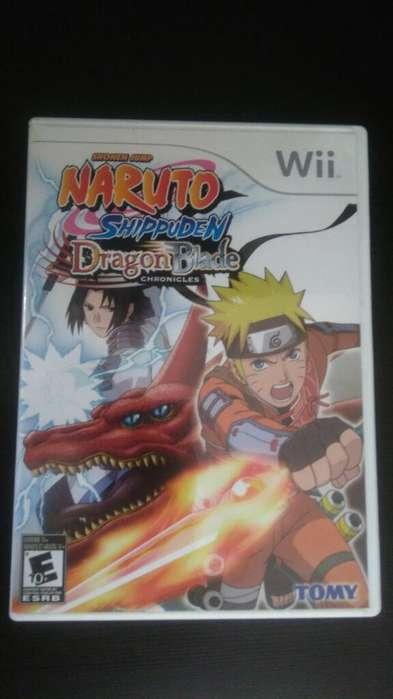 Naruto Shippuden Wii Perfecto Estado Vendo o Cambio