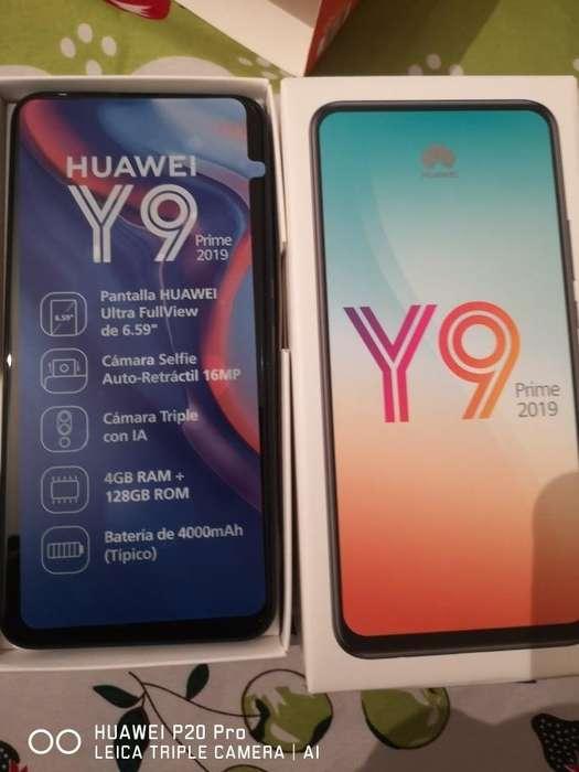 Huawei Y9 PRIME con GARANTIA de 12 meses y audifonos