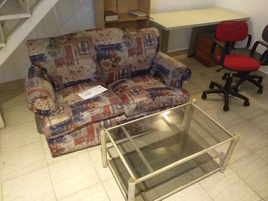 <strong>sofa</strong> Y Mesa de Vidrio