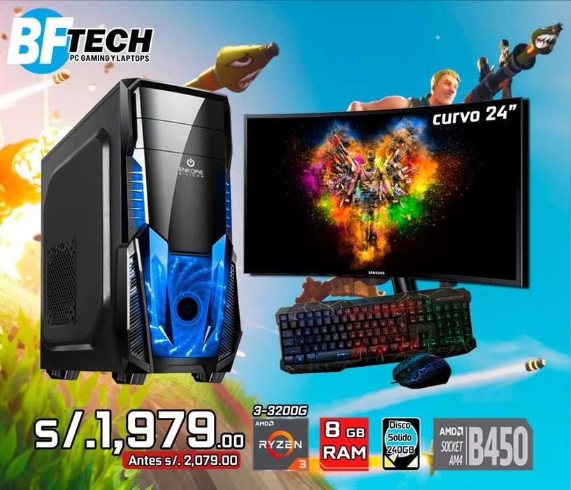 PC GAMING RYZEN 3 3200G 3.6GHz 9
