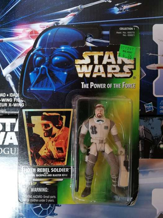 Star Wars The Power Of The Force - HOT REBEL SOLDIER - Figura Kenner