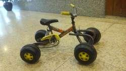 Auto a Pedal Cuatri