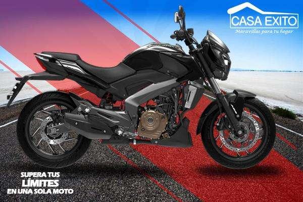 Moto Bajaj Dominar 400 Año 2019 400cc Color Negro / Azul