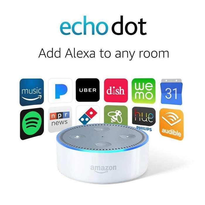 Echo Dot Segunda Generación Entrega Inmediata