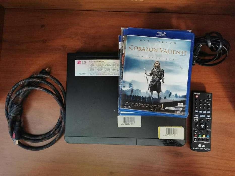(BP340) Reproductor de Blu-ray con Wi-Fi Incorporado