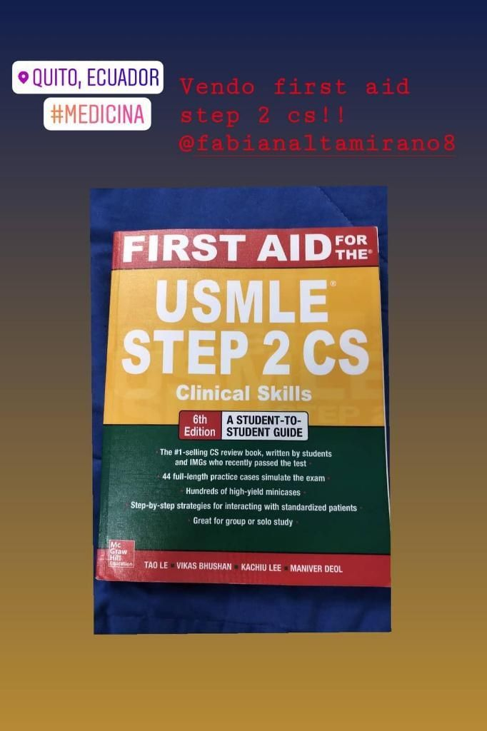 First Aid Usmle Step 2 Cs