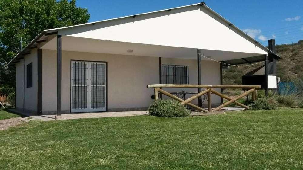 ws06 - Cabaña para 2 a 6 personas con pileta y cochera en Lujan De Cuyo