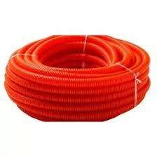 Caño flexible naranja 5/8 x 25 mt.