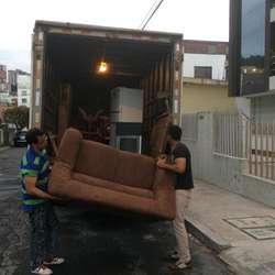 Mudanzas Furgon Fletes carga 24h transporte seguro camión facil