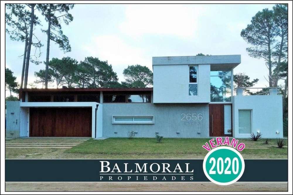 Ref: 8614 - Casa en alquiler, Pinamar, Zona Alamos