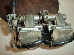 Carburador de dos cilindros