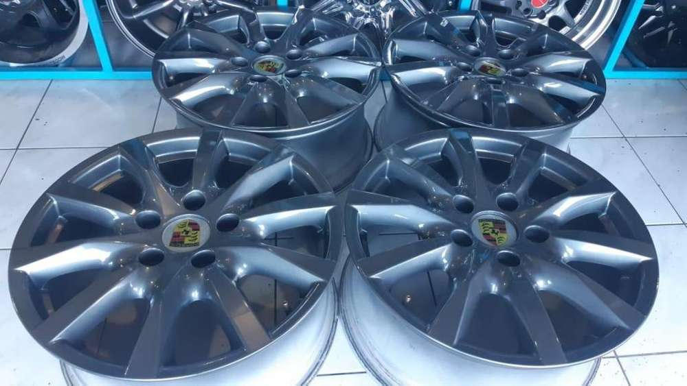 4 Aros Nuevos Porsche R18 Originales Made in Germany 5 huecos130mm
