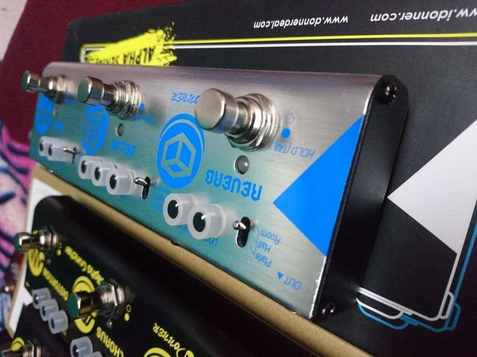 pedal de modulación REVERB/DELAY/chorus*flanger*phaser