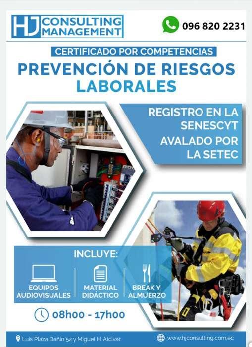 CERTIFICACIÓN DE COMPETENCIAS EN PREVENCIÓN DE RIESGOS LABORALES.