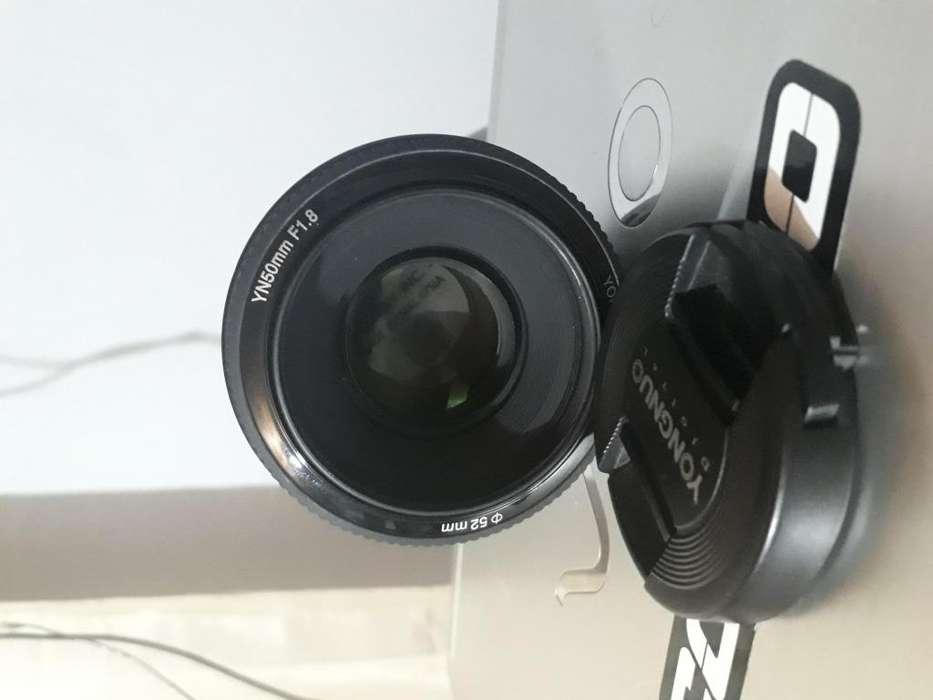 Lente Fijo 50mm Yongnuo Canon Yn50mm F/1.8 (ideal retratos)