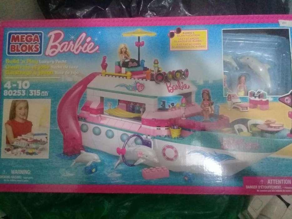 Mega blocks barbie 80253 yate