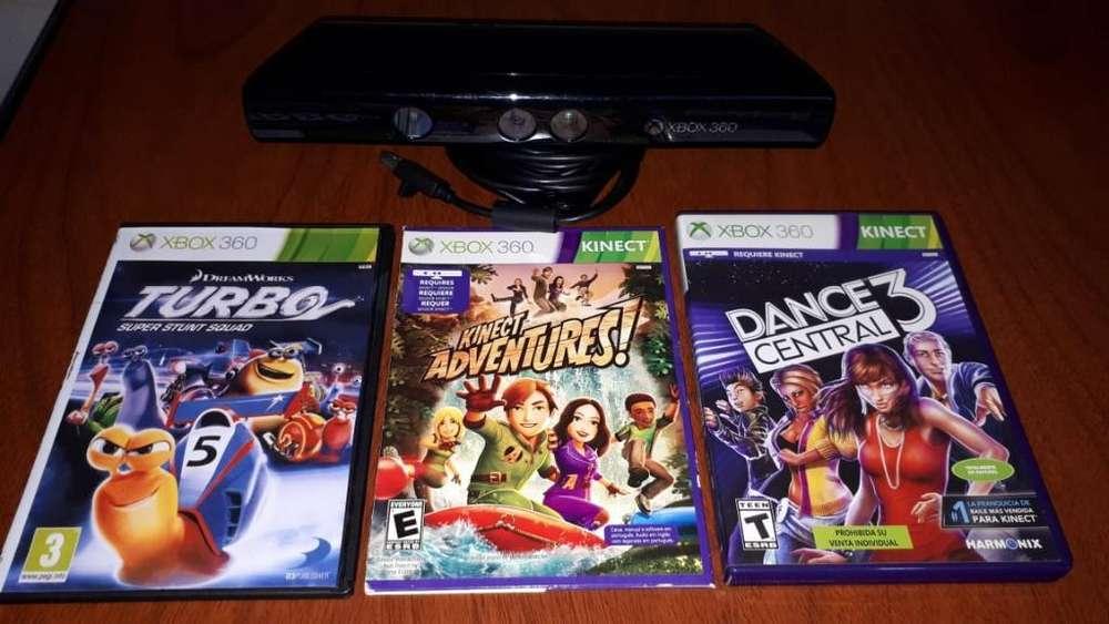 Vendo Cámara Kinect X Box 360