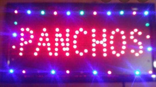 Cartel Luminoso Pancho 48 x 25