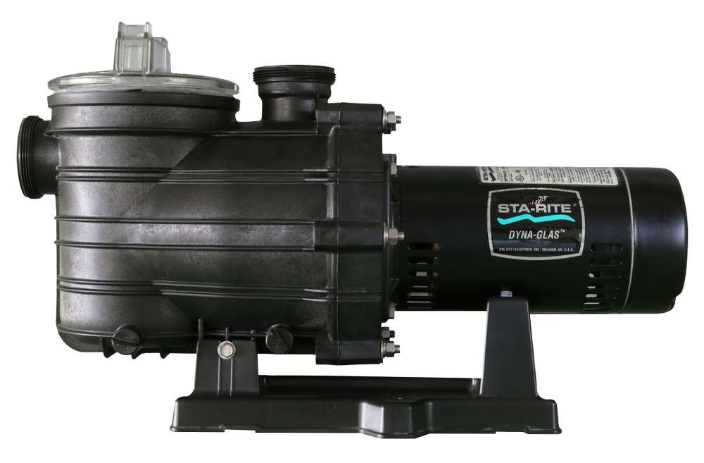 bomba de 1 hp dynaglass super max