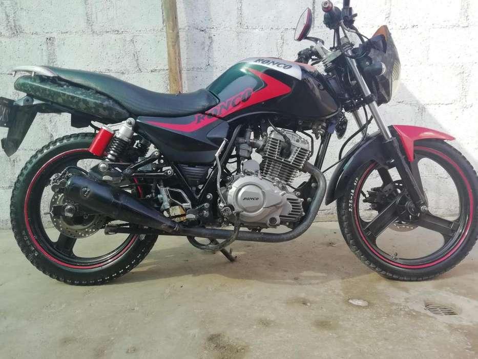 Se vende moto ronco titanium 150 cel 963419591