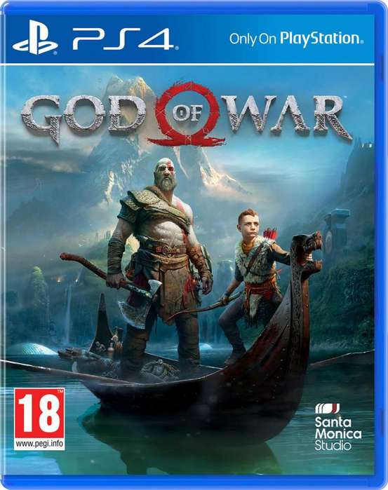 GOD OF WAR 4 PS4 FISICO