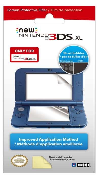 Pantalla filtro de protección para Nintendo 3DS XL
