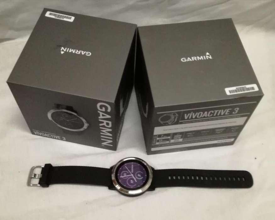 Smartwatch Gps Garmin Vivoactive 3